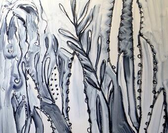 Cactus Garden III- Original Oil Painting
