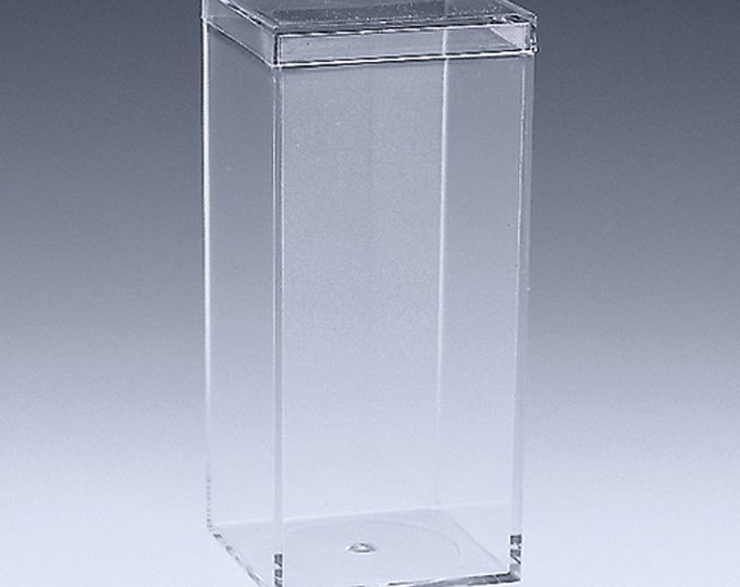 Clear Acrylic Favor or Gift Box