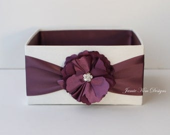 Wedding Open Box/ Program Box - custom made to order