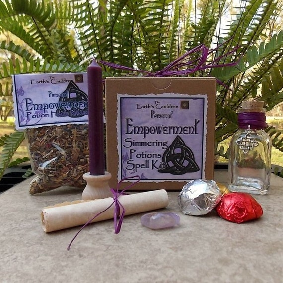 Personal Empowerment Simmering Potions Spell Kit