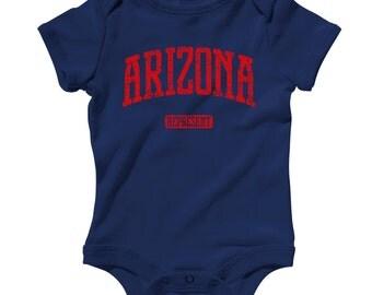 Baby Arizona Represent Romper - Infant One Piece - NB 6m 12m 18m 24m - Phoenix Baby - 4 Colors