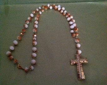 Creamy Gold Rosary