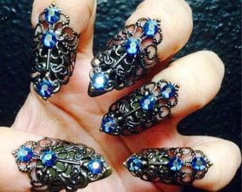 set of 5 Adjustable nail tips