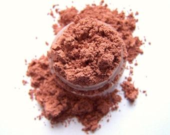 Mineral Eye Shadow - Copper Basics Eyeshadow - Copper Shadow - Metallic Copper Eyeliner - Vegan Shadow - Vegan Makeup