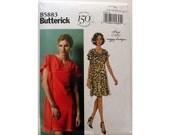 Suzi Chin Pattern Dress Butterick 5883 Large