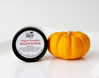Perfect Pumpkin Salt Scrub
