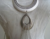 Body chain metal/multi chain body jewel/beyonce body harness/ethnic body harness