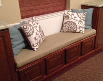 Custom Order Your Bench Cushion Cover To Fit Your Needs Covers Only