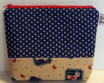 Reusable Sandwich Bag, Reusable Snack Bag, Food Safe Nylon Lined, Eco friendly, Zipper Top, Ready to Ship