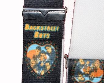 Vintage Backstreet Boys Braces-Nineties 1990s90s - Kitsch kawaii -boyband- nick carter - throwback accessories