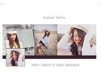 Facebook Cover Templates - Timeline Template and Timeline Cover - Photos Galore Photoshop Photography INSTANT DOWNLOAD