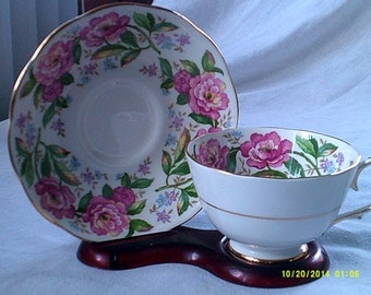 Roslyn Tea Cup and Saucer