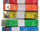 Fun Tapes, Assorted Fun Colors, Fun Colors Measuring Tapes, Craft and Sewing supply