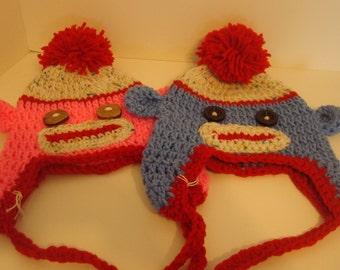 Cute monkey hats