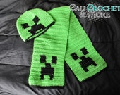 Exploding Creep - Hat & Scarf Set