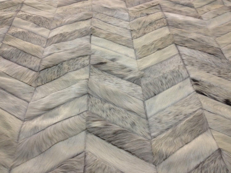 Excellent patchwork hide rug | Furniture Shop DE27