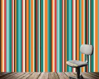 Removable Wallpaper- SKU- Peel & Stick Self Adhesive Fabric Temporary Wallpaper-Repositionable-Reusable- FAST. EASY.