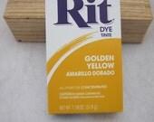 Golden Yellow Rit Dye Powder