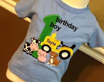 Boy's Farm Themed T-shirt