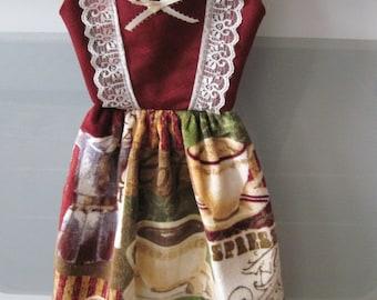Oven Door Coffee Cup Towel Dress
