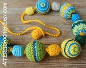 CROCHET BEADS NECKLACE by ATERGcrochet