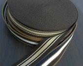 """Heavy canvas Cotton Webbing Belt strap tape width 35 mm ( 1-3/8 """")  x 1.5  yards,"""