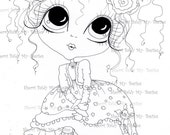 INSTANT DOWNLOAD Digital Digi Stamps Big Eye Big Head Dolls Img4331 My Besties By Sherri Baldy