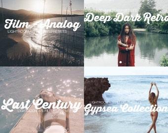 4 Combo Pack! Film Analog - Last Century - Gypsea Collection - Deep Dark Retro
