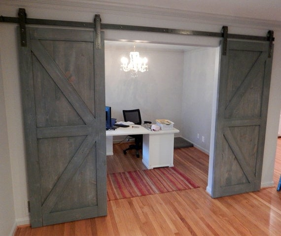 Atlanta Interior Sliding Barn Door Classic British By