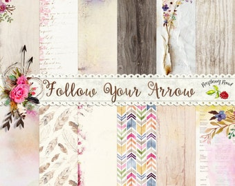 Follow Your Arrow Paper Set