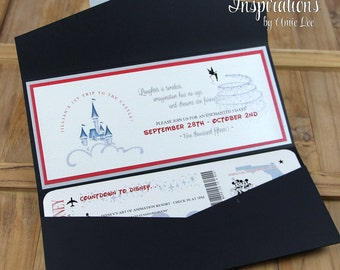 disney wedding invitations  etsy uk, invitation samples