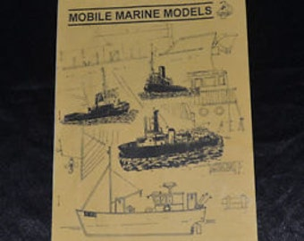 Mobile Marine Models Parts Price List Booklet - Hull, Kits, Accessories and Tools Price List