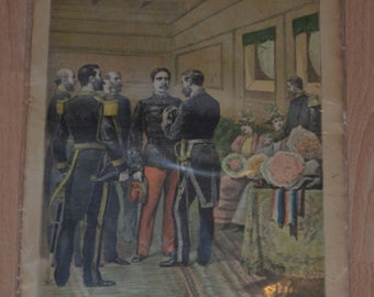 Vintage French Newspaper: LE PETIT JOURNAL Supplément illustré 27 mai 1893