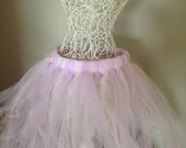 Tutu for Dance or Dress Up, for Baby, Toddler, Girls, Tween, Teen, Women and Runners! - Light pink and purple
