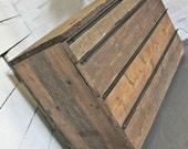 Foster Natural Reclaimed Scaffolding Board Chest of Drawers with Angular Steel Handles - Bespoke Urban Furniture by www.inspiritdeco.com
