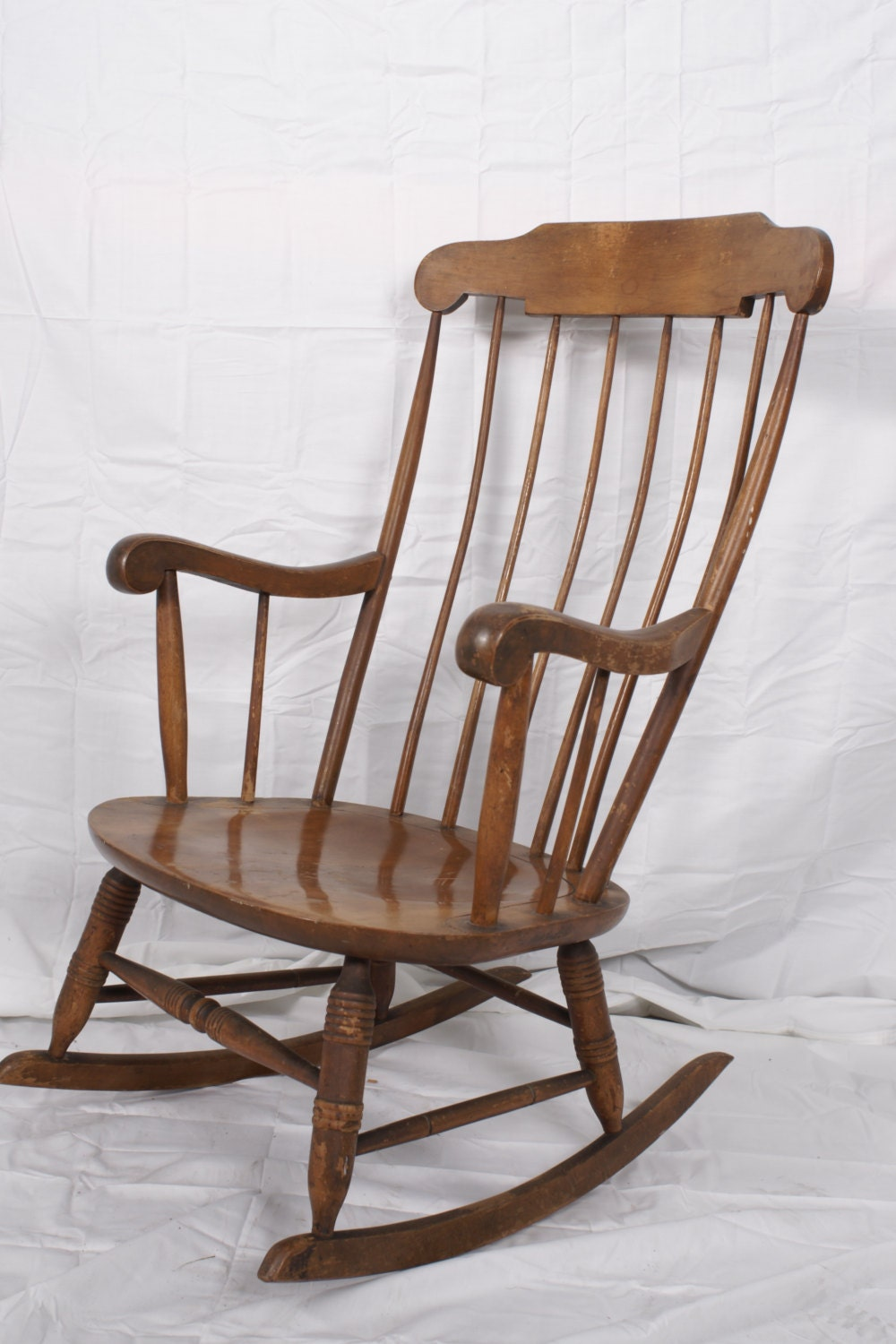 Rocking Chair Vintage Nichols Stone Nursery Rocker Custom
