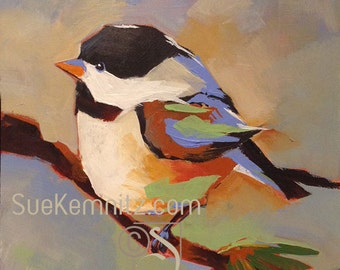 Whimsical little chickadee #5