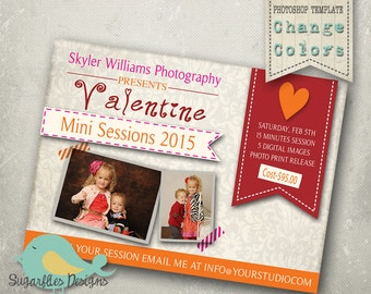 Valentines Mini Sessions PHOTOSHOP TEMPLATE - Mini Sessions 08