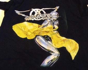 aerosmith just push play concert tee shirt size large 2001
