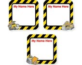 Write On Labels, Construction