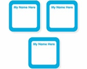 Write On Labels, Solids (Pick Your Colors)