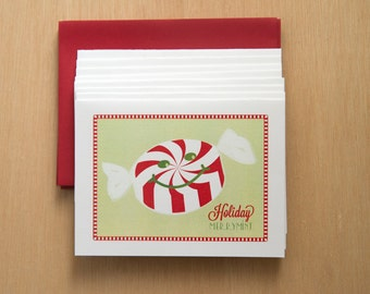 Holiday Merriment - Set of 8 Cards
