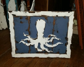 Weathered Octopus