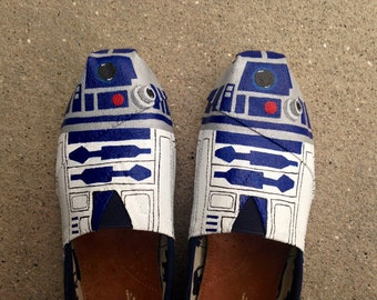 Custom Hand Painted Shoes - Star Wars Toms