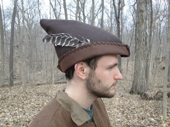 how to make a robin hood hat out of felt