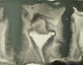 Dark Monochrome Artwork on a Postcard P462