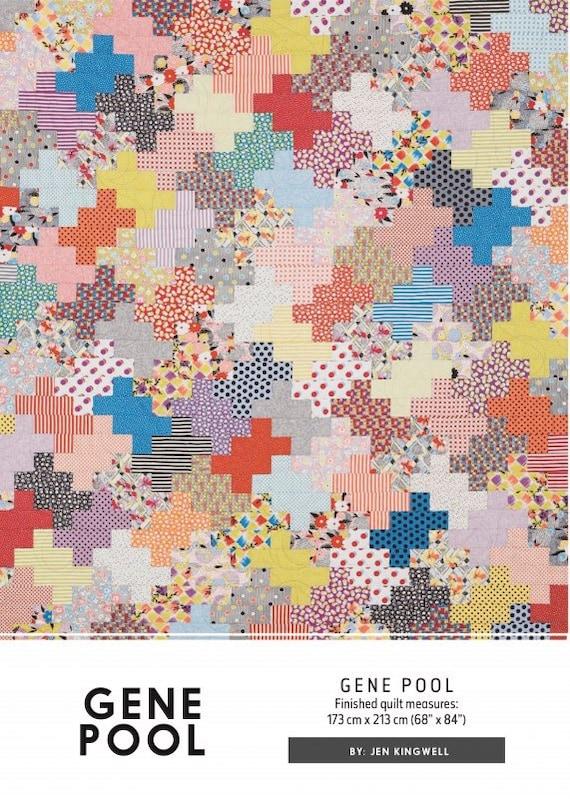 Gene pool quilt pattern by jen kingwell designs for Pool design pattern