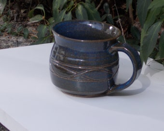 Blue-Brown Coffee Mug