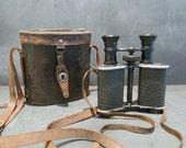 RARE Antique French Proteos Zion Paris Binoculars.