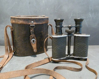 RARE Antique French Proteos Zion Paris Binoculars.